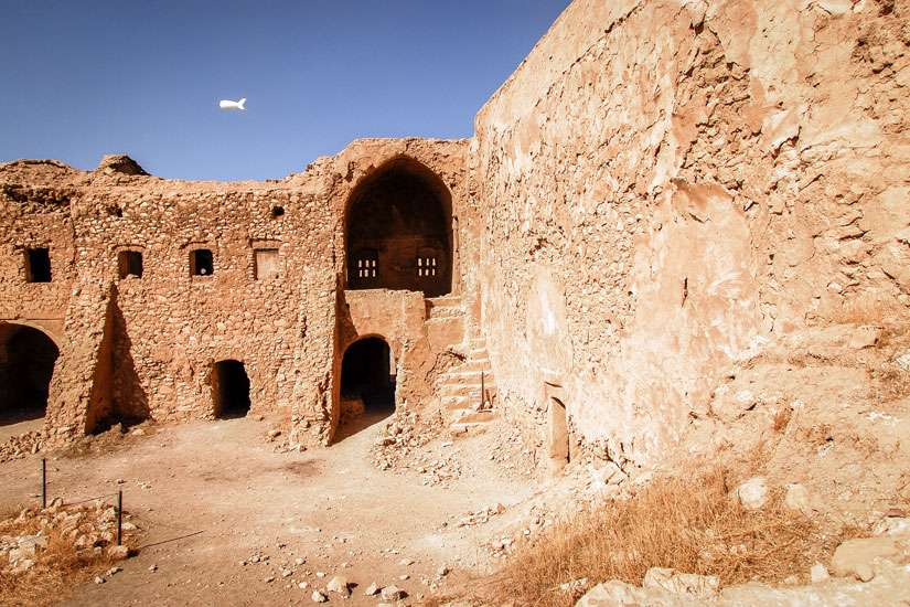 This 2009 photo shows the remains of St. Elijah Monastery in Mosul, Iraq. Islamic State militants claimed responsibility for the recent destruction of Iraq's oldest Christian monastery after a preservation effort was mounted to save the 1,400- year-old site.