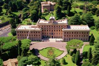 The Palace of the Governorate of Vatican City State, 2007.