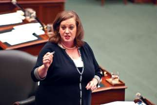"Ontario Community and Social Services Minister Lisa MacLeod calls the autism plan ""fair, equitable and sustainable."""