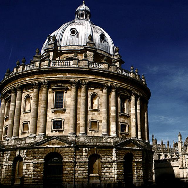 The Bodleian Library, the main research library of the University of Oxford, is one of the oldest libraries in Europe.
