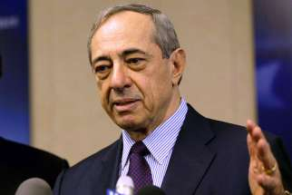 Former New York Gov. Mario Cuomo, pictured in a 2004 photo, died Dec. 4 at age 82. His funeral Mass was to be celebrated Jan. 9 at St. Ignatius Loyola Church in New York.