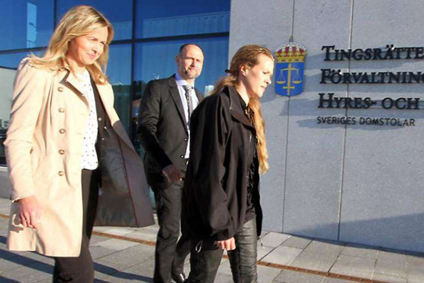 Swedish pro-life midwife Ellinor Grimmark, right, lost in court again April 12 when a labour court sided with an earlier district court decision that said her freedom of opinion and expression was not violated when she was denied employment due to her anti-abortion views.