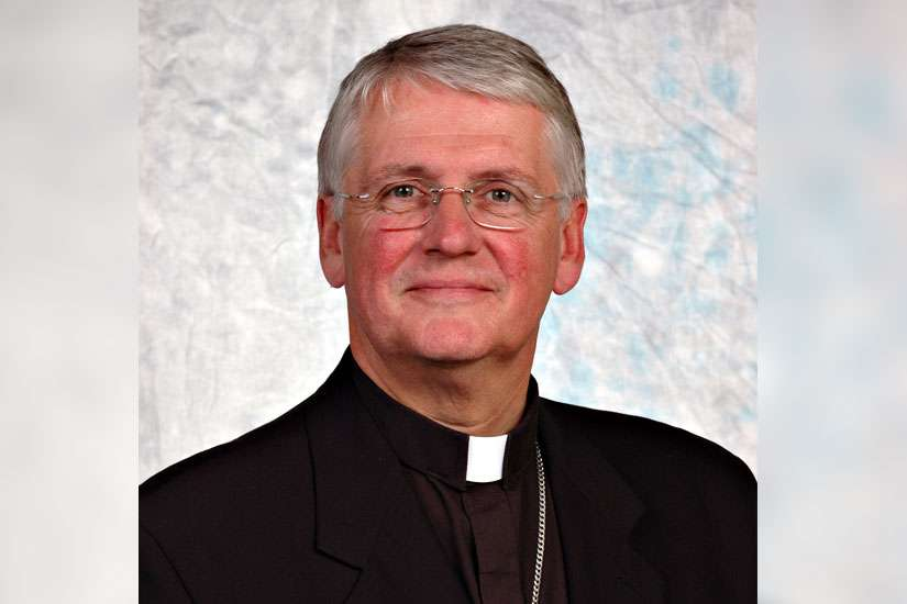 CCCB President Bishop Douglas Crosby