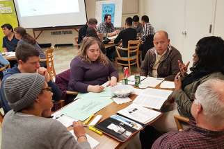 Focus groups in Montreal prepare for Youth Synod. Many dioceses approached consultations in a combination of one or all three methods: online surveys based on the Vatican's synod questionnaire, consultations with key groups and open town-hall meetings for the general public.