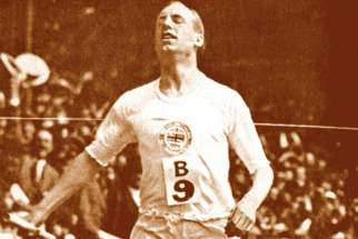 "Eric Liddell, the Olympic runner whose story is told in the film Chariots of Fire, said, ""When I run, I feel God's pleasure."""