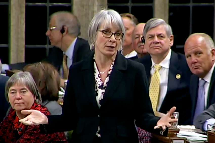"""Young people are counting on us to stand up for their rights, to deliver this program in a way that is equitable and respects all Canadians,"" Employment Minister Patty Hajdu said at the House of Commons Mar. 19, 2018."