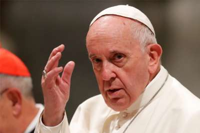 Pope Francis to military chaplains: Human dignity must be respected in war