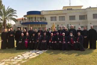"The Conference of the Catholic Patriarchs of the East gathered for its annual meeting Nov. 26-30 in Baghdad under the theme ""Youth is a Sign of Hope in the Middle East Countries."