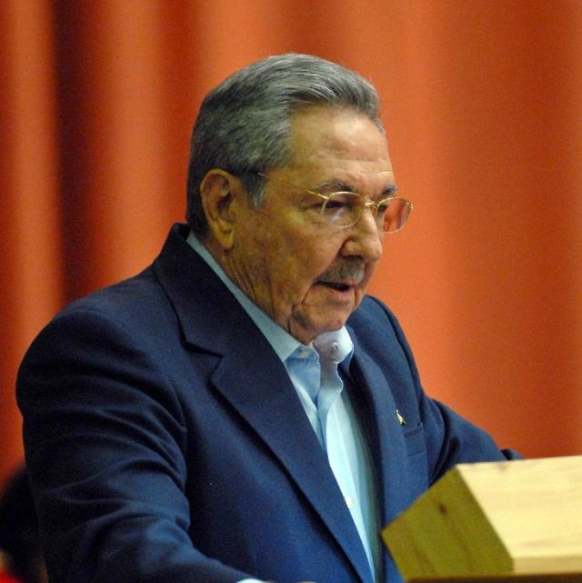Cuban President Raul Castro addresses the National Assembly in Havana Dec. 23. He said Cuba will release 2,900 prisoners for humanitarian reasons in a sweeping amnesty ahead of a spring visit by Pope Benedict XVI.