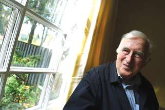 Jean Vanier at his interview in 2007.