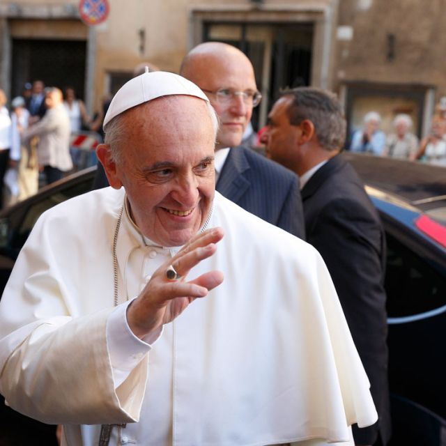 "Pope Francis chose the theme: ""Fraternity, the foundation and pathway to peace"" for World Peace Day 2014."