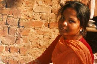 An undated photo of Asia Bibi.