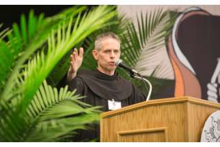 U.S. Franciscan Father Michael Perry, minister-general of the Order of Friars Minor.