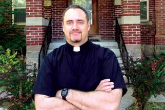 Fr. Christopher Lemieux, the new vocations director for the Archdiocese of Toronto.