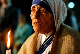 Mother Teresa died 21 years ago.