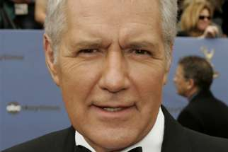 "Alex Trebek, host of the game show ""Jeopardy,"" is seen in this 2006 file photo. He died Nov. 8, 2020, from complications related to pancreatic cancer. He was 80."