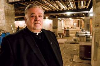 Fr. Michael Busch directed the renovation project.
