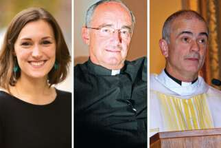 Emilie Callan, Fr. Michael Czerny and Fr. Michael Brehl are among the 10 Canadians who will be participating in the Synod of Bishops for youth.