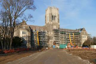 St. Peter's Seminary is going through a major renovations project, which formation director Fr. Peter Keller says is returning the school to its original vision.