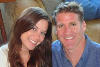 Brittany Maynard is pictured with husband Dan Diaz in this undated handout photo obtained by Reuters Nov. 3. The 29-year-old woman who was suffering from terminal brain cancer ended her life Nov. 1 in Oregon, where physician-assisted suicide is legal. Ma ynard's decision was praised by assisted suicide advocates, but pro-life leaders called it a tragedy.