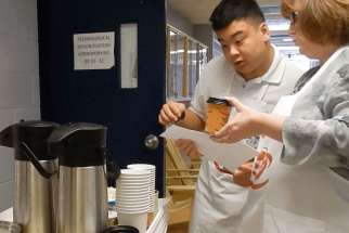 BCN Cafe teaches special needs' students life skills