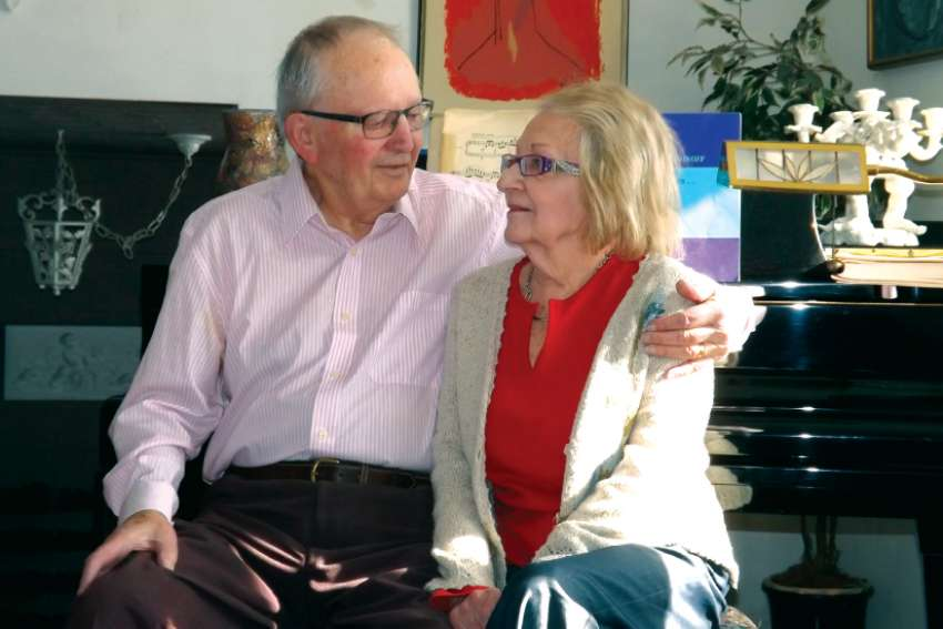 David and Jeannette Brown, who will celebrate 60 years of marriage next month, will be honoured with a special blessing at the Celebration of Marriage Mass Feb. 10.