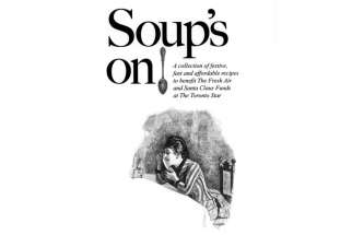 Soup's On to support children's charities