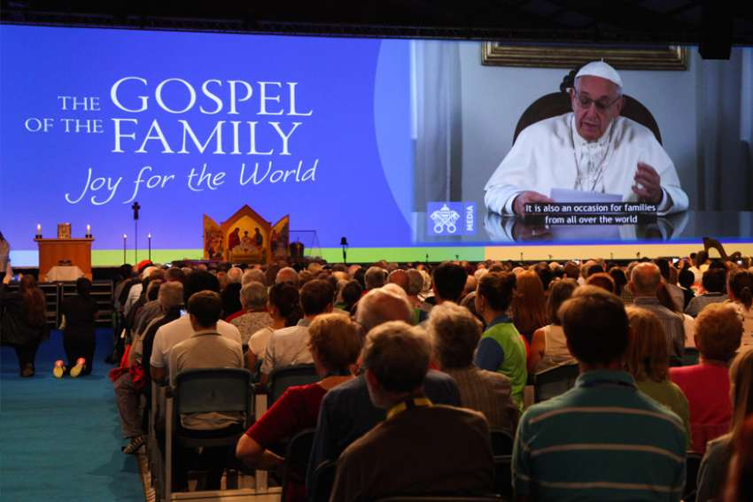 Pope Francis chooses theme for World Meeting of Families 2021