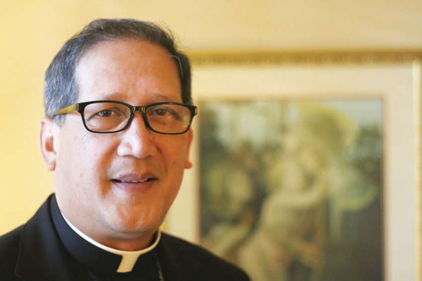 Pope Francis has named Auxiliary Bishop Oscar A. Solis of Los Angeles as bishop of Salt Lake City. The first Philippine-born prelate to head a U.S. diocese, Bishop Solis is pictured in a Jan. 5 photo.