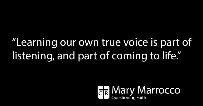 Faith: Being in silence teaches us God's voice