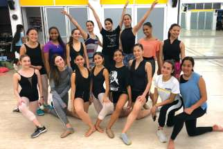 Myriam Guevara Mann's dance group will perform at the WYD Youth Festival.