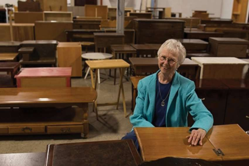 Sr. Anne Schenck of the Sisters of St. Joseph founded Toronto's Furniture Bank which has impacted the lives of thousands over the past 23 years.