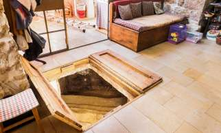 An Israeli family experienced the surprise of a lifetime when, during a home renovation, workers discovered a 2,000-year-old Jewish ritual bath, called a mikvah.