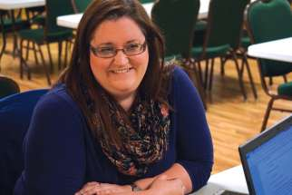 Melissa Monette is the youth coordinator for Blessed Sacrament Parish in Ottawa.