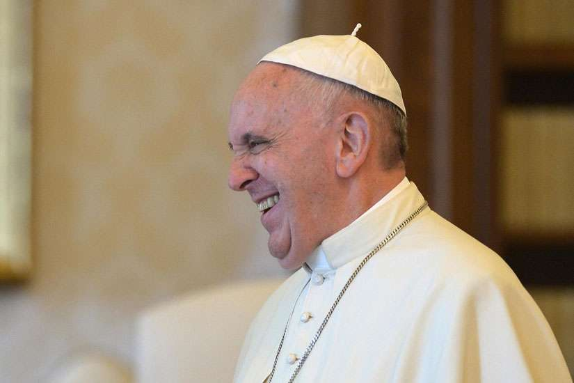 "The new ""Joke with the Pope"" digital campaign is encouraging people to ""donate"" a joke to support one of three causes ahead of Pope Francis' U.S. visit."