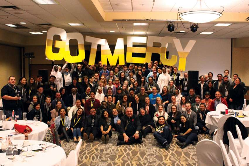 The Canadian Catholic Youth Ministry Network celebrated the end of the Year of Mercy during its annual conference.