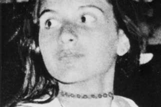 Emanuela Orlandi is pictured in a photo that was distributed after her presumed kidnapping in 1983. Italian media immediately raised the possibility that bones found at the apostolic nunciature to Italy in Rome could be the remains of Orlandi, who was kidnapped 35 years ago at the age of 15. A forensic examination of the bones is underway, the Vatican said Oct. 30.