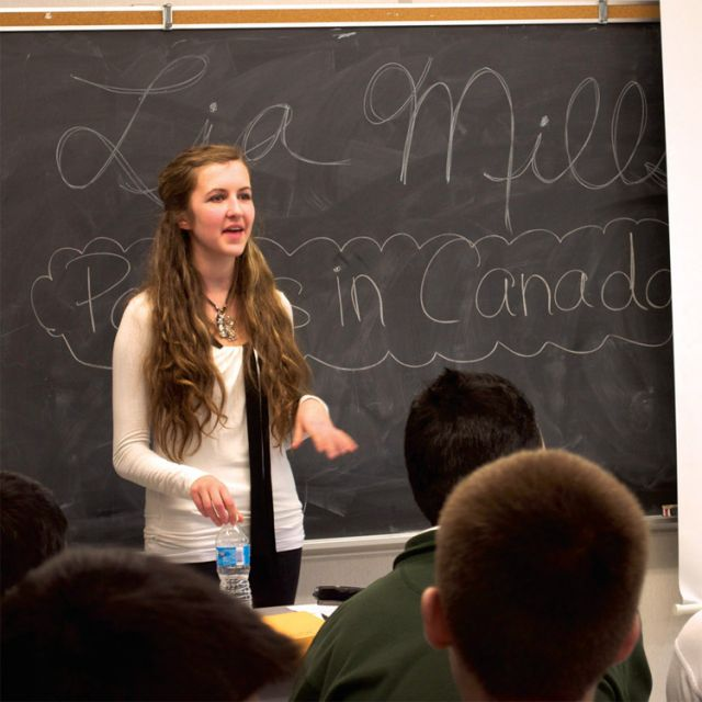 Lia Mills is an independent pro-life speaker who held a workshop on Canadian political history of abortion at the Culture of Life 2013 event at St. Theresa of Lisieux Catholic High School.