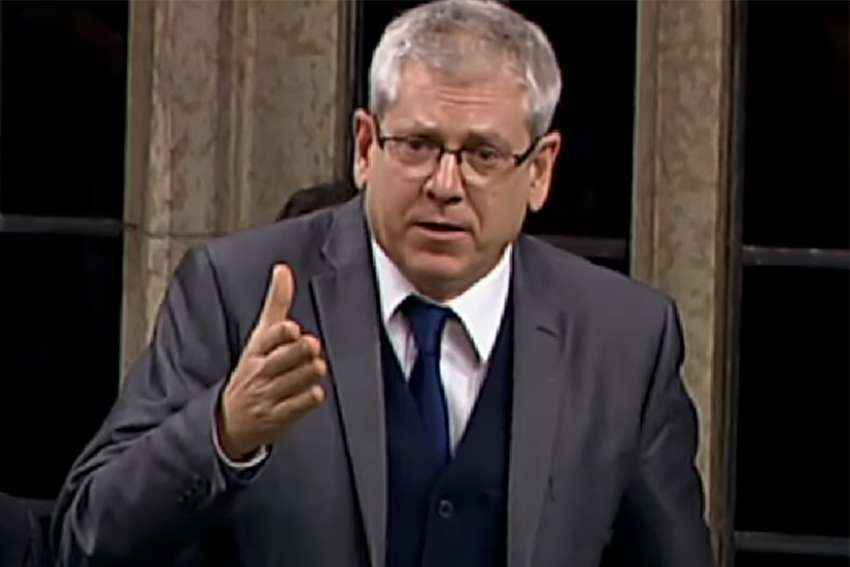 "Charlie Angus believes the March 27 announcement that the Pope ""could not personally"" come to Canada does not mean Francis has said no to Canada."