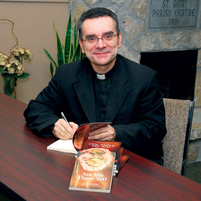 Fr. Frank Freitas' book Are We There Yet? is a guide to seeking life's purpose.