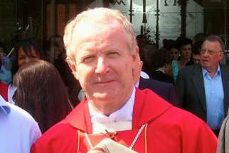 "Bishop Kieran Conry resigned after admitting that he has been ""unfaithful to his promises as a Catholic priest."""