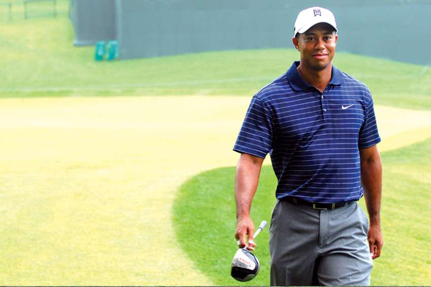 Is Tiger Woods getting a pass from #MeToo?