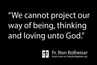 Fr. Ron Rolheiser talks about how God does not have emotions as humans do.