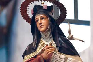 St. Teresa of Avila, the first female Doctor of the Church.