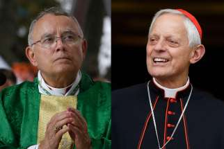 Archbishop Charles J. Chaput and Cardinal Donald W. Wuerl