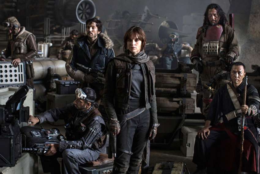 Rogue One: A Star Wars Story is the latest film set in the Star Wars universe.