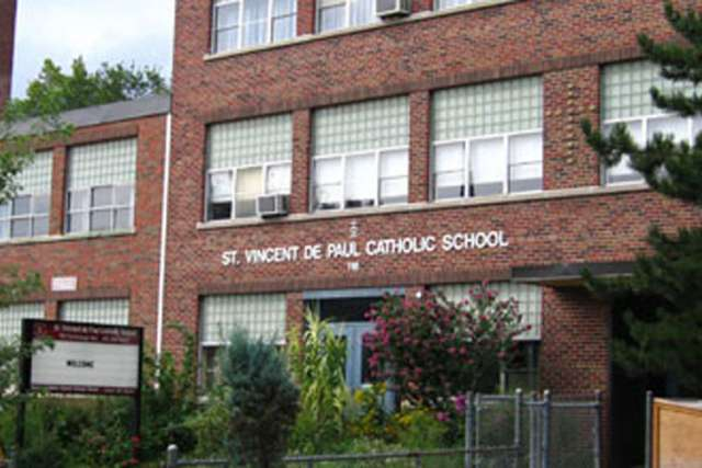 St. Vincent de Paul Catholic School.