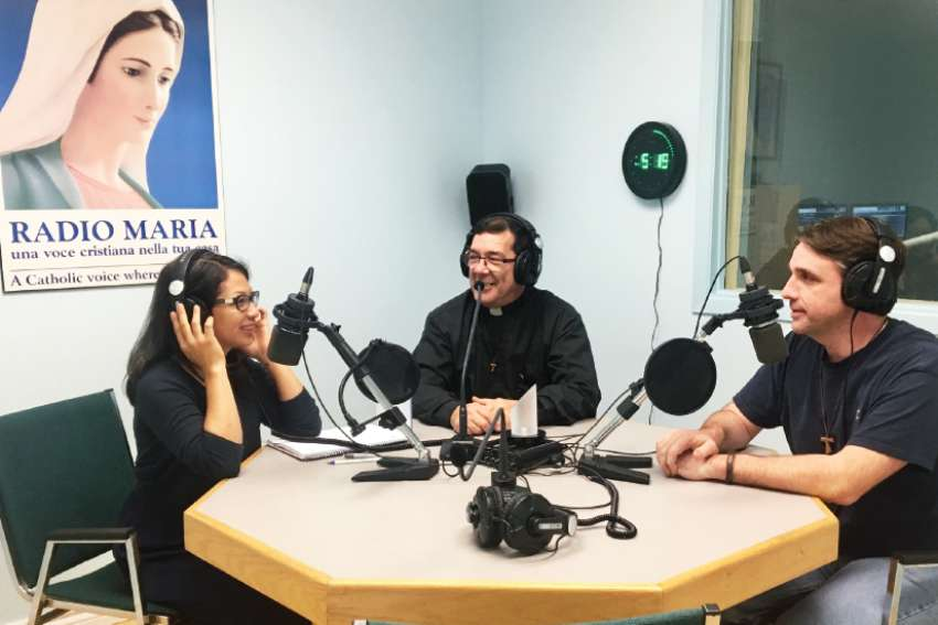 Teresa Lauzon, Fr. Charles Grech and Chris Elliott sit down for a chat on Give Me a Voice.