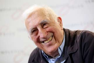 Jean Vanier, founder of the L'Arche communities, is pictured in a March 11, 2015, photo. On Feb. 23, 2020, Holy Cross Father John I. Jenkins, president of the University of Notre Dame, revoked the Notre Dame Award conferred upon Vanier in 1994 after an investigation by L'Arche found credible allegations that Vanier sexually exploited six women. Vanier, who died in 2019, asked the women to keep their relations secret.
