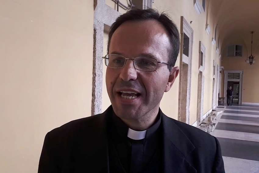 Theologian Fr. Herman Geissler, 53, member of a community called The Spiritual Family The Work, submitted his resignation Jan. 28 to the prefect, Cardinal Luis Ladaria Ferrer, who then granted his request.